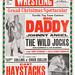 wrestling poster, sheffield