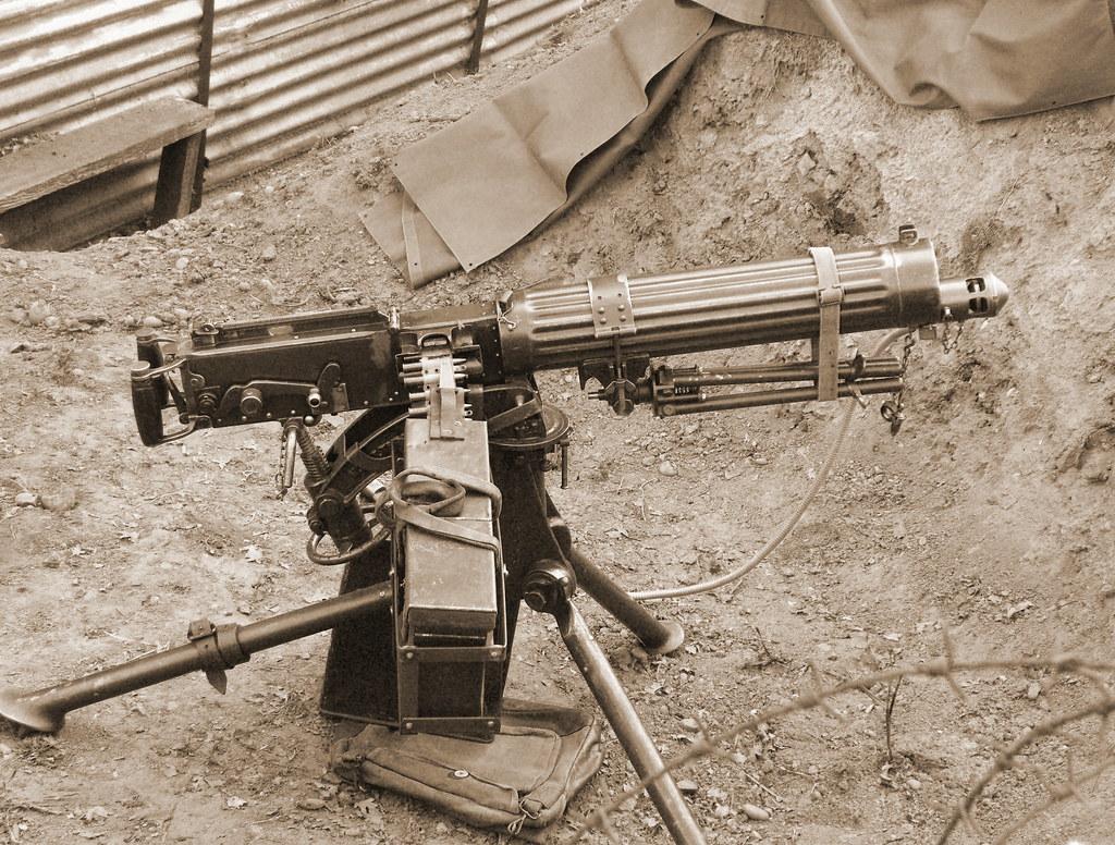 vickers machine gun parts