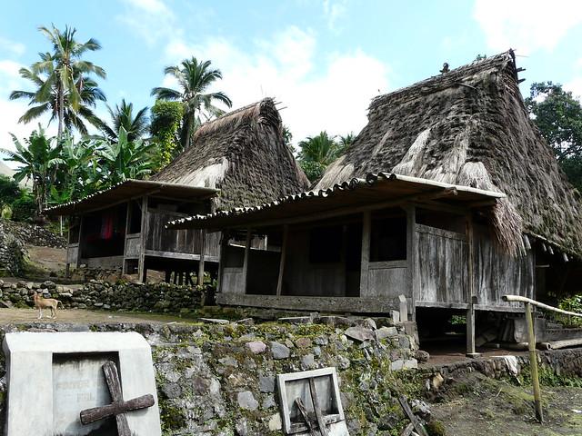 Aldea ngada en Flores (Indonesia)