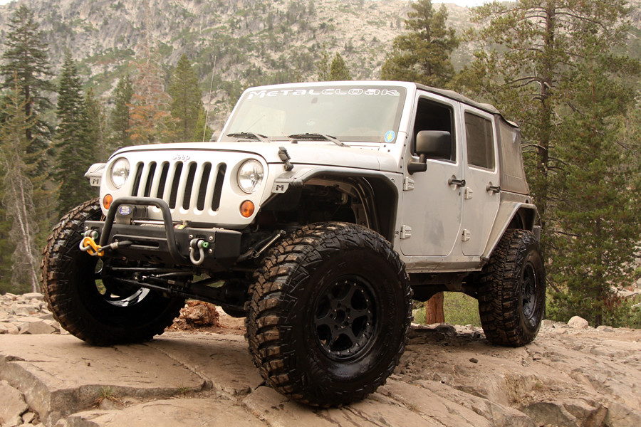 Metal Jeep Fenders >> JK on 40's with MetalCloak Fenders | The Silver Bullet, a Fo… | Flickr