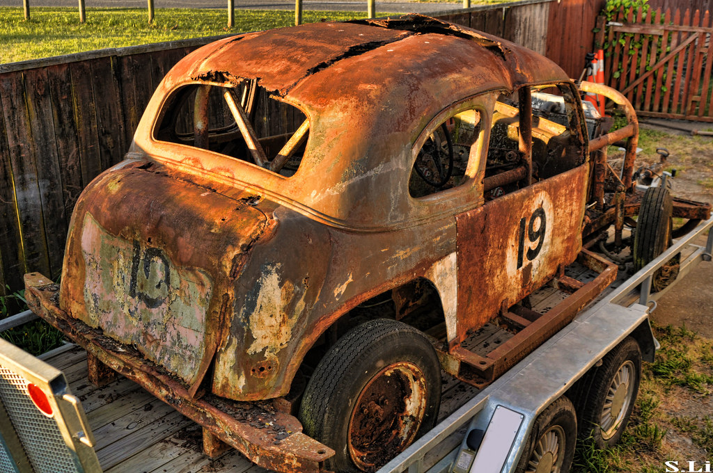 1937 Chevy Stock Car (Rust Bucket) | Went round to see my ...