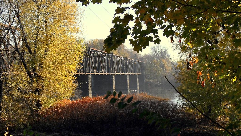 Old Train Bridge Old Train Bridge Over The Susquehanna
