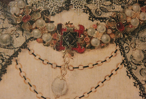 Queen Elizabeth 1 Jewelry Jewellery detail of queen