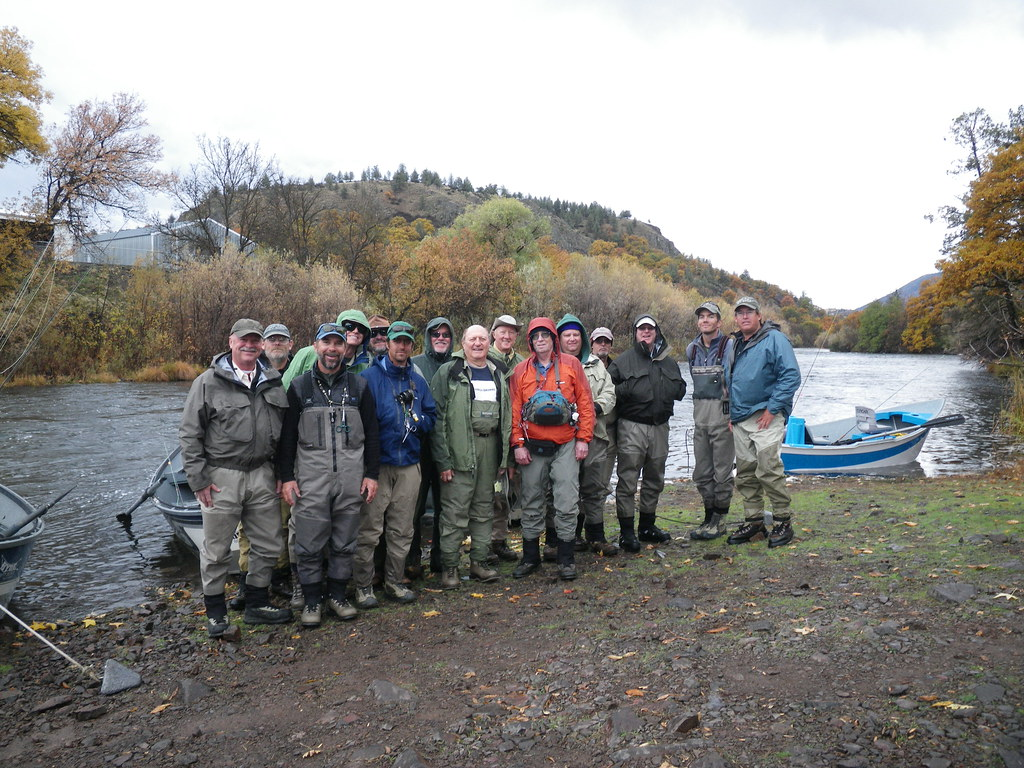 Tri valley fly fishing club klamathon lodge weekend with for Fly fishing guide jobs