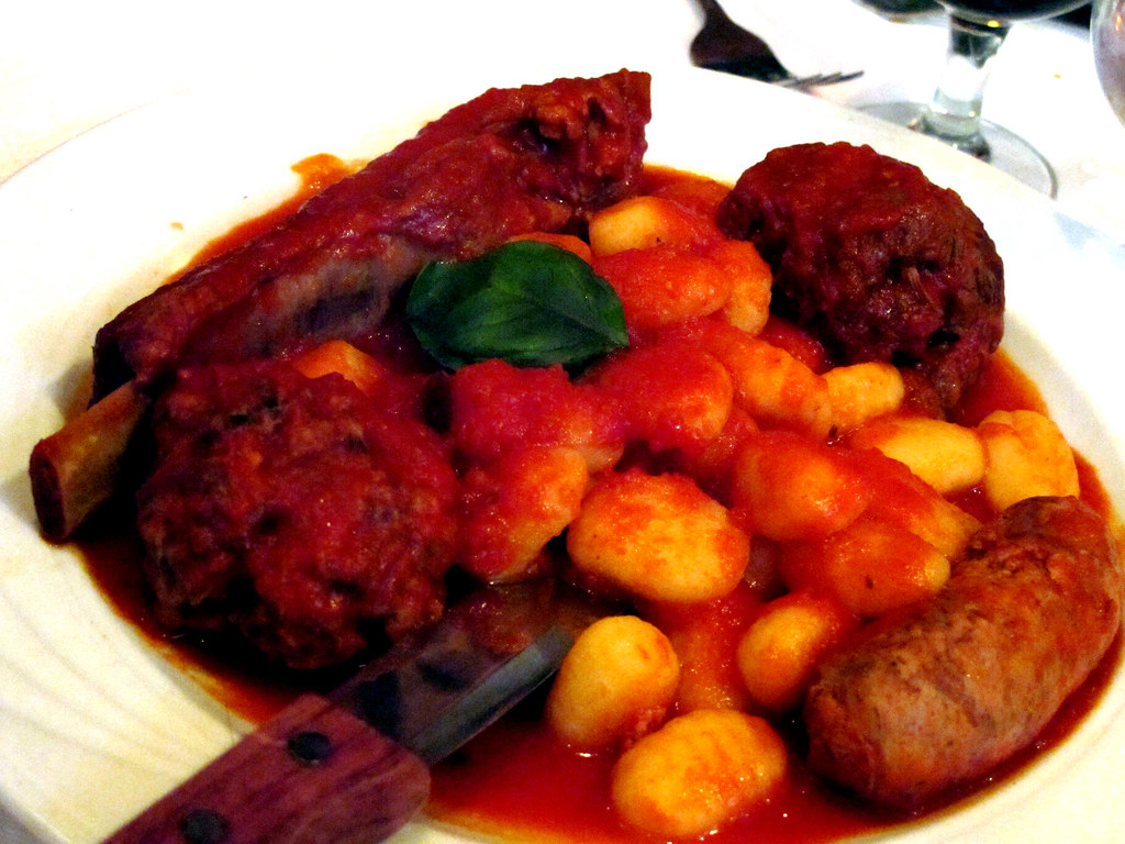 Mixed meats with gnocchi la sorrentina for La sorrentina brooklyn