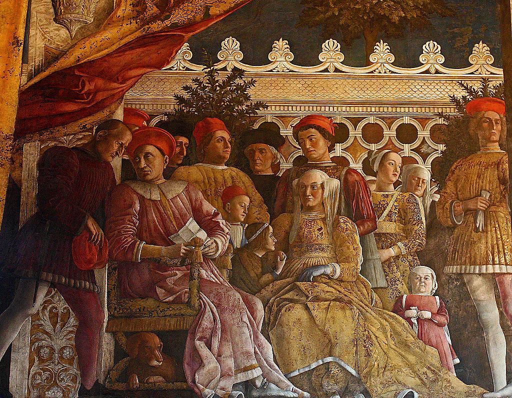 Camera degli sposi mantegna andrea mantegna 1431 1506 for Camera degli sposi immagini