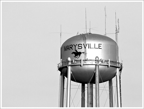 Marysville Water Tank | by bobcrowe_com