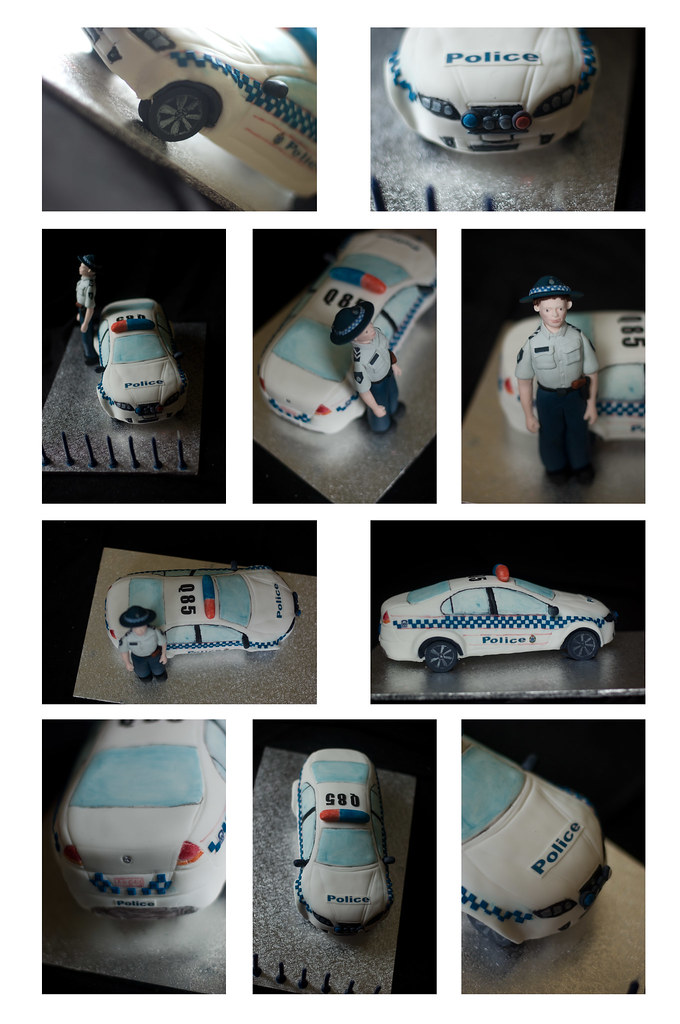 Police Car Cake My Son S 7th Birthday Cake He Wants To