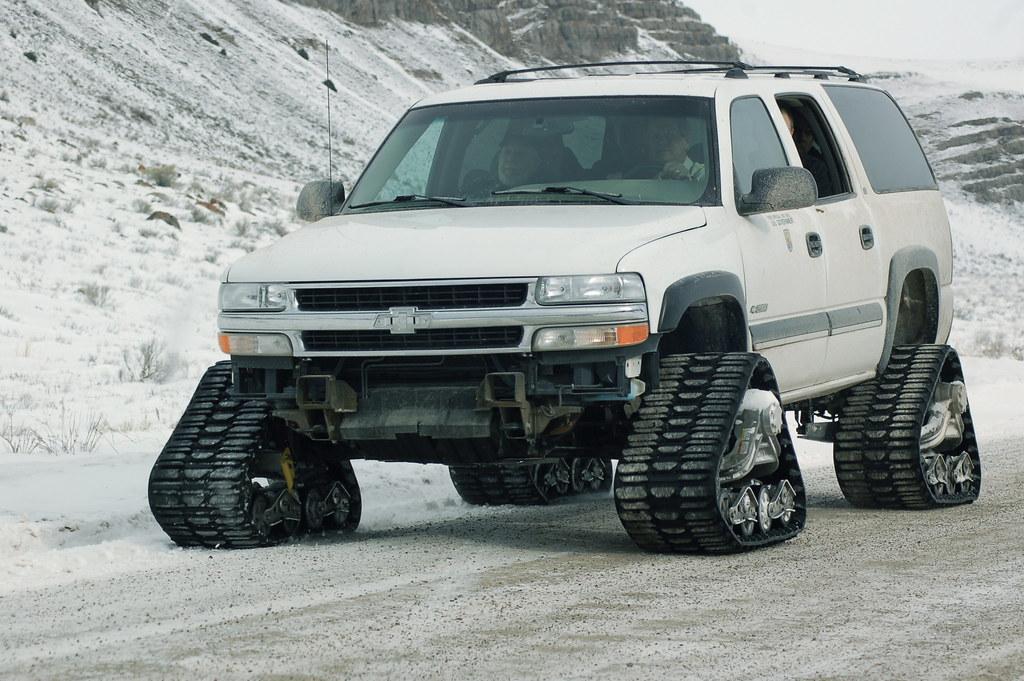 Tracks For Vehicles >> Chevy track-conversion | Civilian Scrabble | Flickr