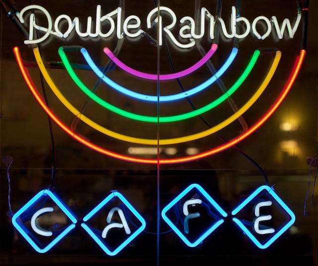 Double Rainbow Cafe San Rafael Menu