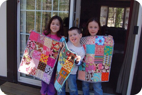 My kids & their mini quilts! | by j_q_adams