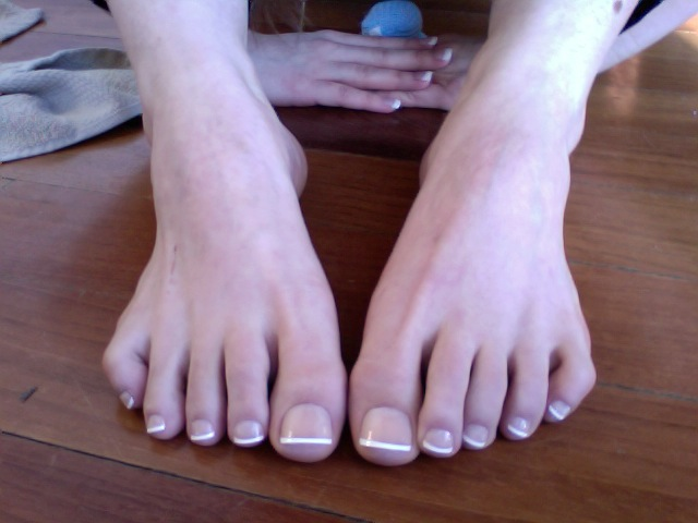 Press on toenails | What do you think? Do they look fake? Of… | Flickr