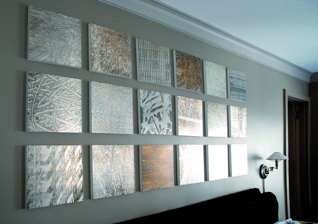 Etched Metal Wall Art