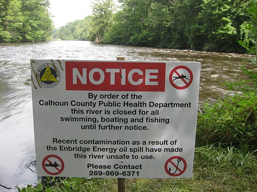 Kalamazoo River Oil Spill, 7-28-2010 063 | by The Sierra Club
