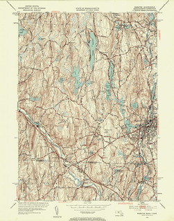 Webster Quadrangle 1953 - USGS Topographic Map 1:24,000 | by uconnlibrariesmagic