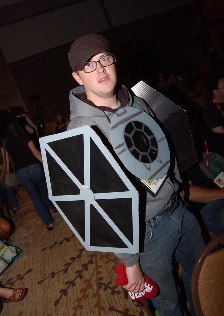 Tie Fighter Halloween Costume 2010 Tie Fighter Costume