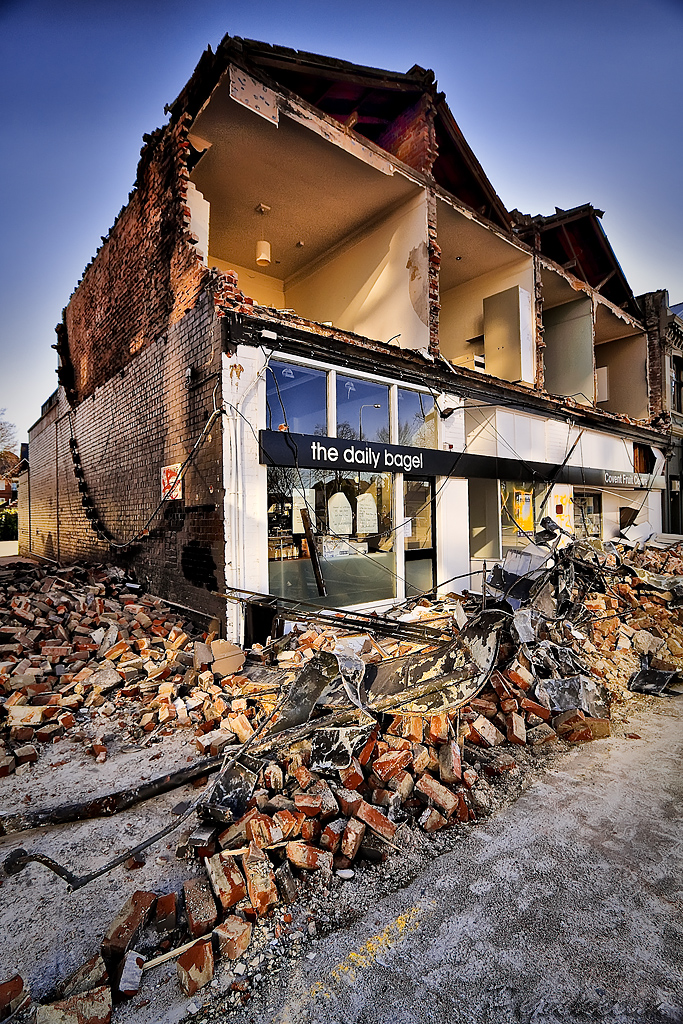 Christchurch Earthquake Damage - 4/9/2010 | View Large On ...