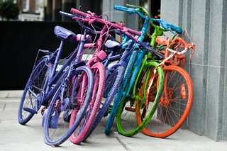 rainbow bicycles | by essexdiver