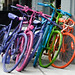 rainbow bicycles