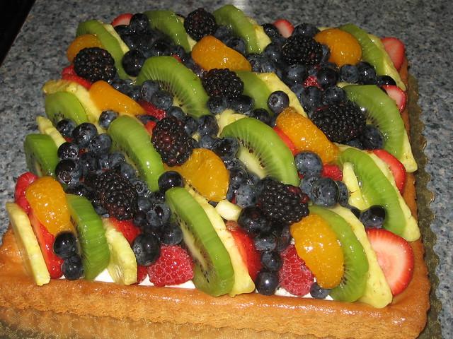 Fruit Tart Cake Flickr Photo Sharing