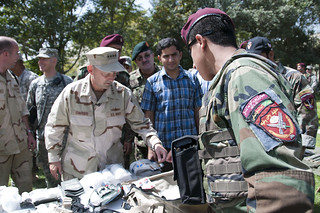 Admiral Stavridis meets with Afghan National Army commandos | by NATO Training Mission-Afghanistan