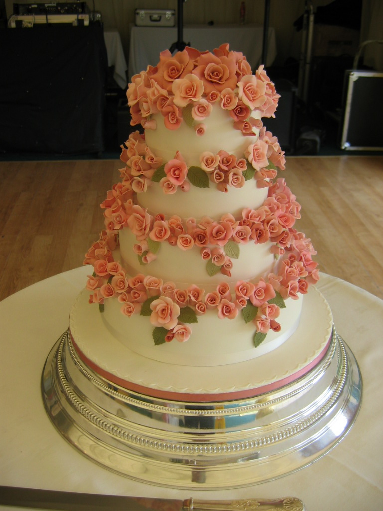 rich fruit wedding cake wedding cake no 78 4 tier rich fruit cake covered in 19230