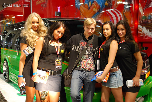 Girls and I. X-treme Tuning & Custom Car Show | by Ari Helminen