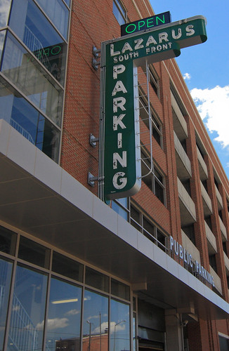 Parking Garage Sign | by Sam Howzit