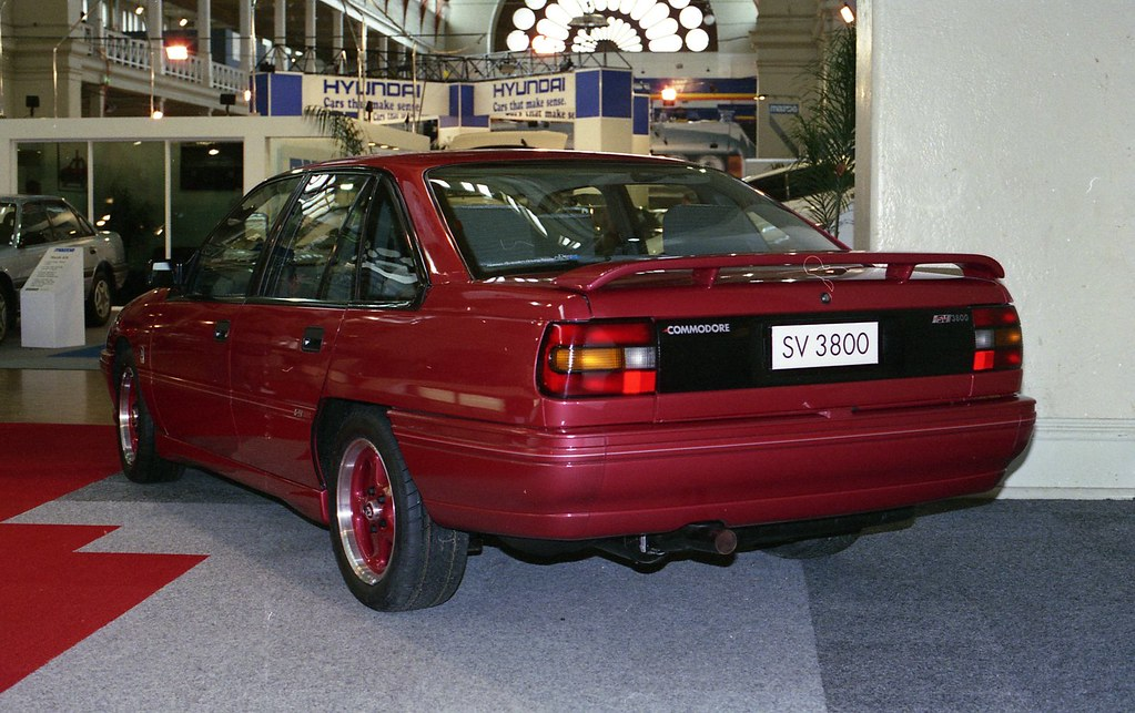 1989 Holden Commodore Hsv Sv3800 At Melbourne Motor Show