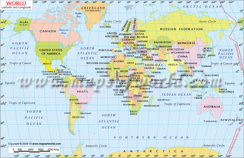 World Map with Latitude and Longitude | www.mapsofworld.com/… | Flickr