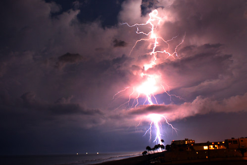 Atlantic Ocean Lightning Strike | by thisisbrianfisher