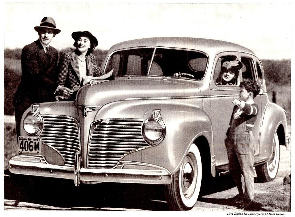 1941 dodge de luxe special 4 door sedan canada notice for 1941 dodge 4 door sedan