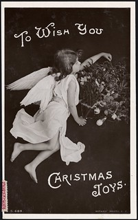 [Postcard]. To wish you Christmas joys. Rotary Photographic series. S 689. [ca 1908]. | by National Library NZ on The Commons