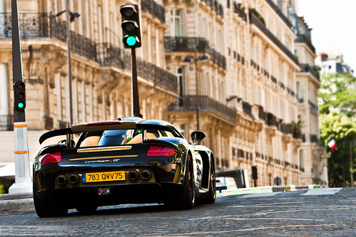 "*EXPLORE*   Porsche Gemballa Mirage GT ""Gold Edition"" 