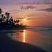 Ghana beach sunrise