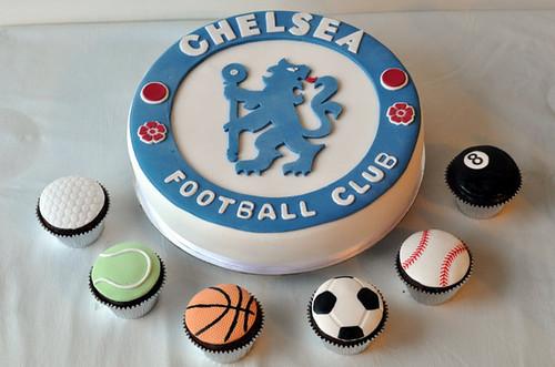 Chelsea Fc Birthday Cake