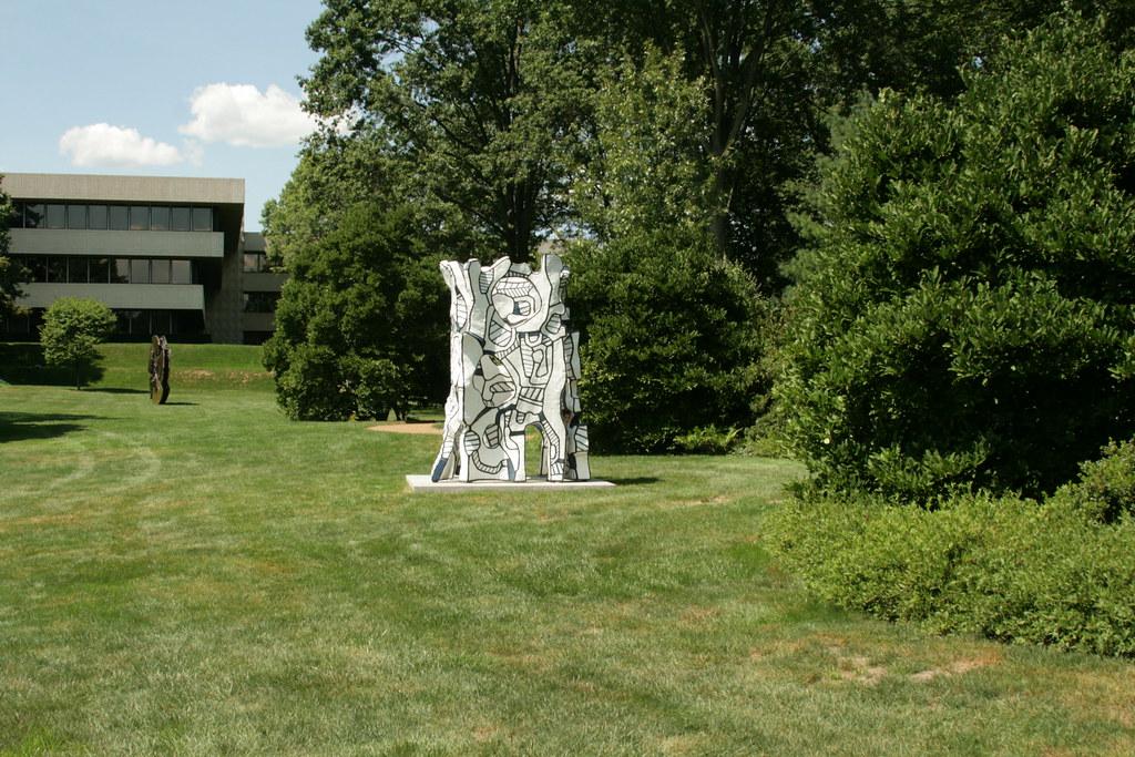 Pepsico Sculpture Garden - Jean Dubuffet - Kiosque l\'évidé…   Flickr