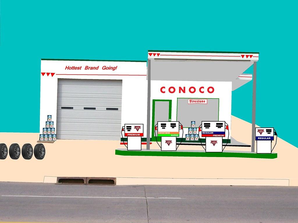 old conoco station  el reno  ok
