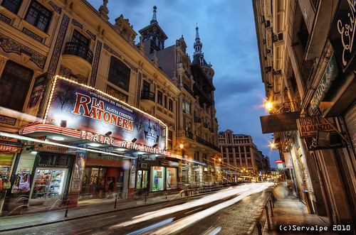 Teatro Reina Victoria, The Lights Show Goes On :: HDR :: DRI | by servalpe
