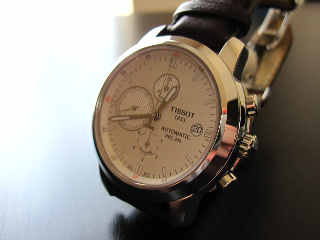 Купить копию мужских часов TISSOT PRC200 T5281 в интернет