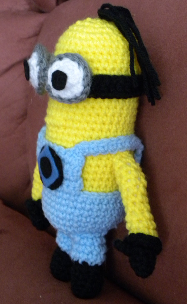 Despicable Me Minion Side View Pattern By Linda Potts Flickr