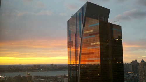 Sunset From Hotel Room