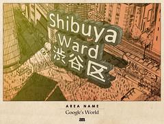 "Area Name ""Google's World"""