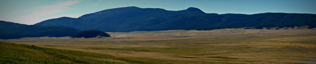 Valles Caldera and Redondo Peak Pano Prior to Las Conchas Fire