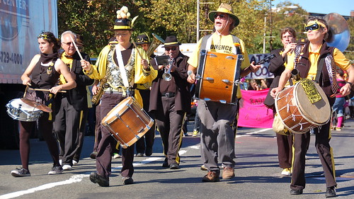 HONK! Fest 2010: Parade from Davis Square to Harvard Square | by Chris Devers