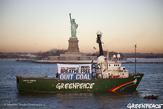 Arctic Sunrise Liberty Coal Free Tour | by Greenpeace USA 2016
