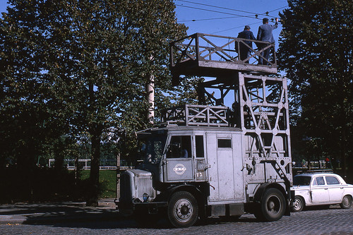 jhm 1965 0773 paris voiture chelle pour trolleybus. Black Bedroom Furniture Sets. Home Design Ideas