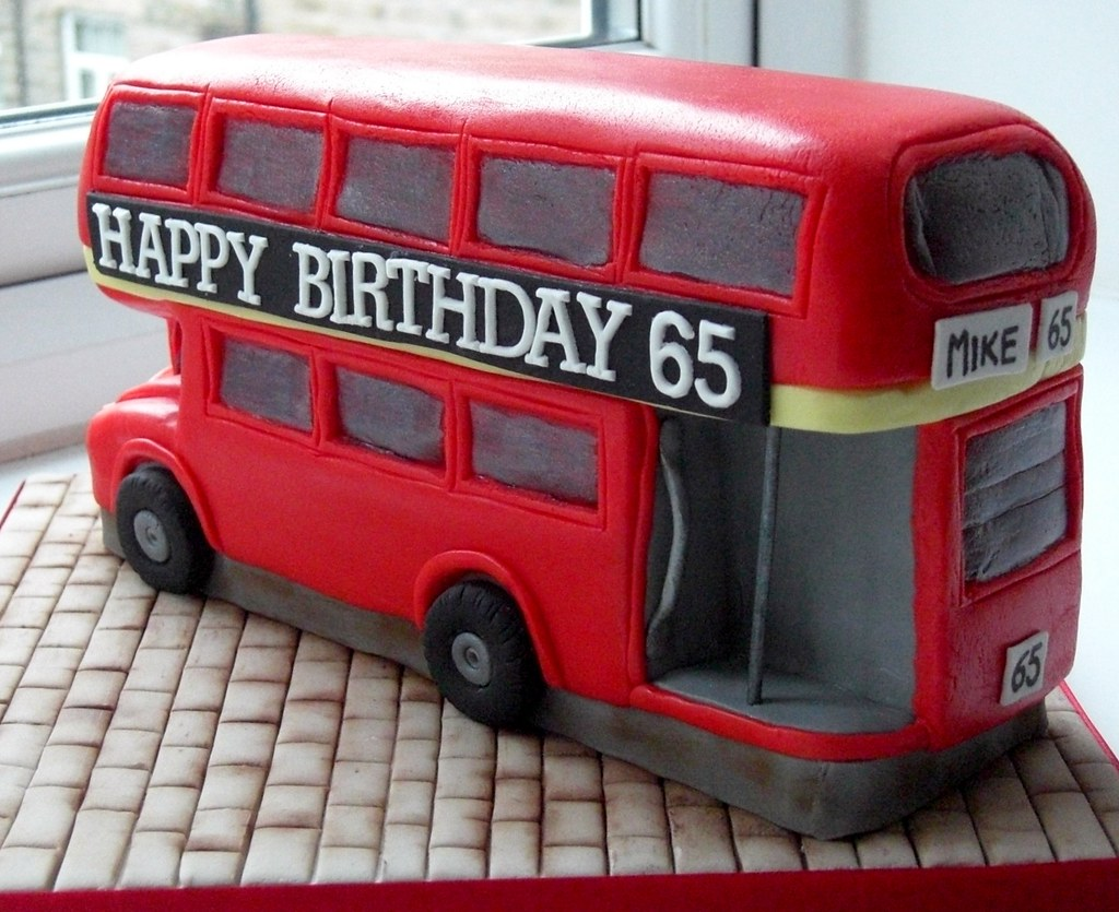 How To Make A Double Decker Bus Cake