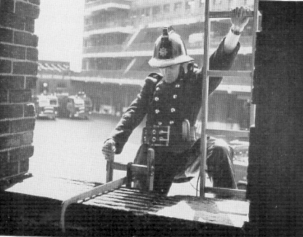 Hook Ladder Drill Circa 1960 By Using Two Hook Ladders A