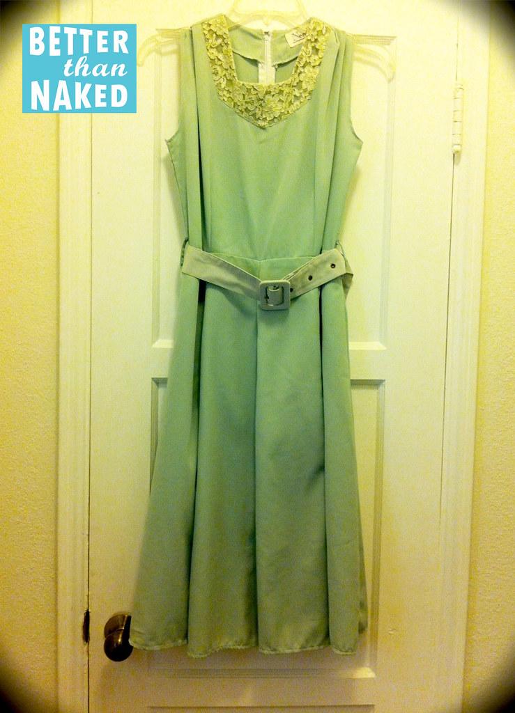 1960S Mint Green Dress  Gorgeous  Better Than Naked -6015